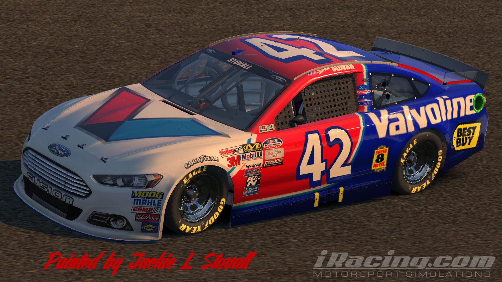 Valvoline by Jackie Stovall   Trading Paints 1600x900