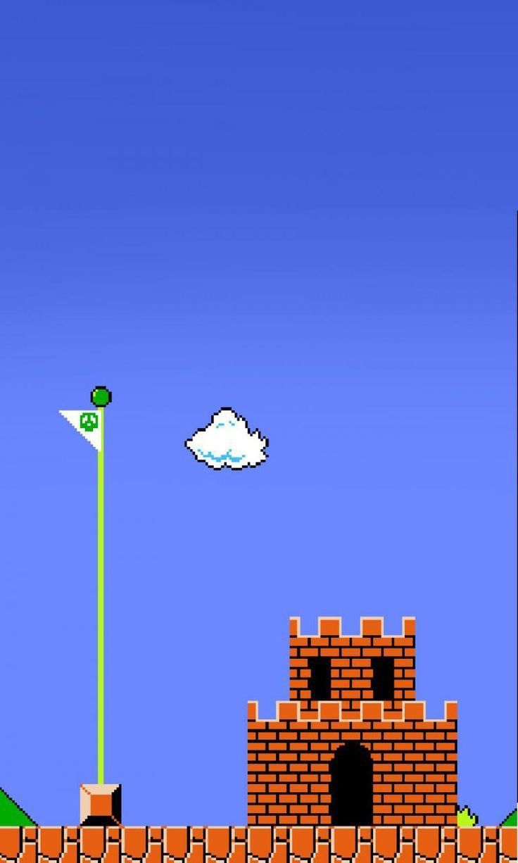 21+] 21 Bit Mario iPhone Wallpaper on WallpaperSafari