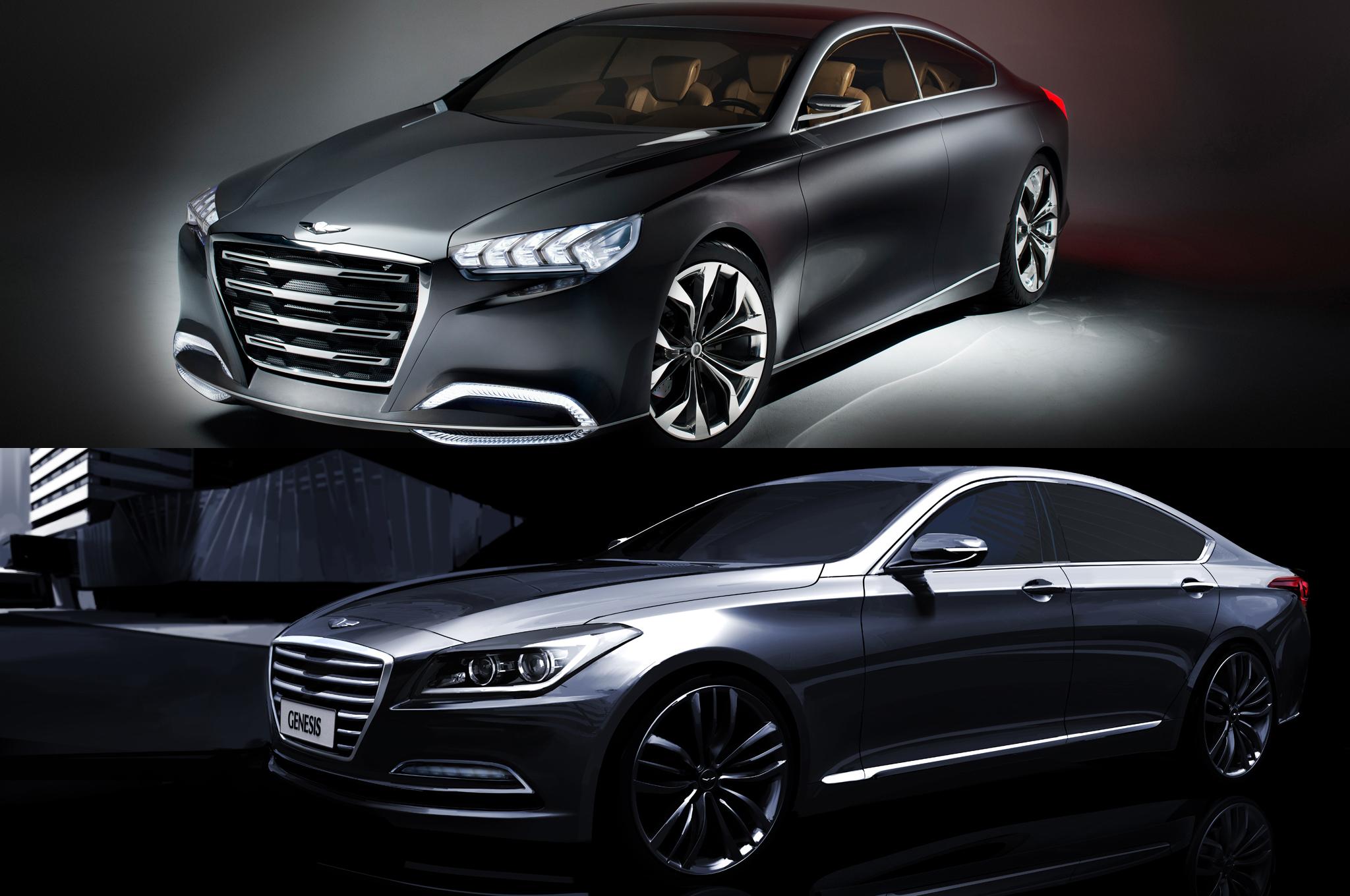 Hyundai Genesis 2013 Sedan Interior   image 216 2048x1360
