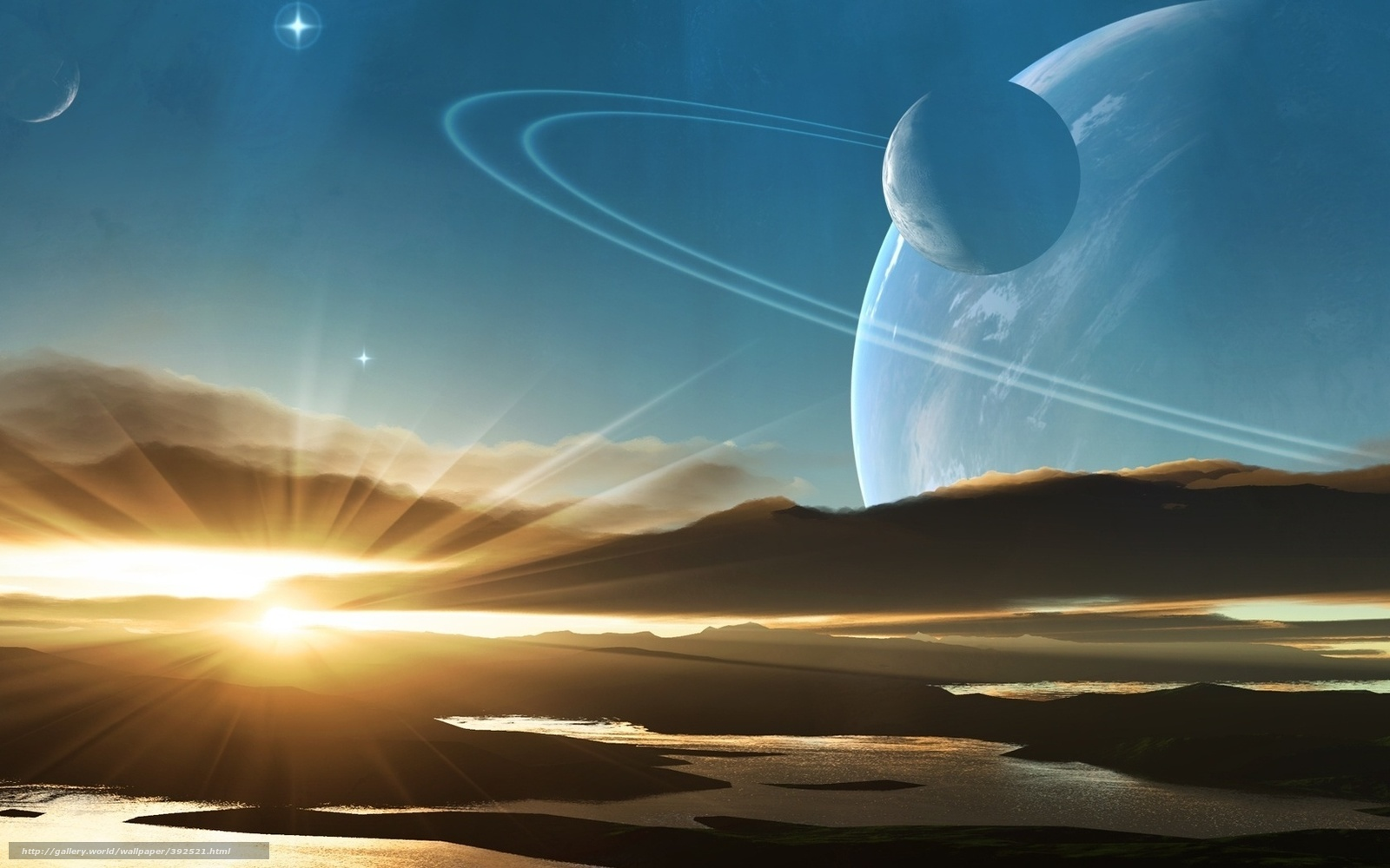 Alien World Wallpaper - WallpaperSafari