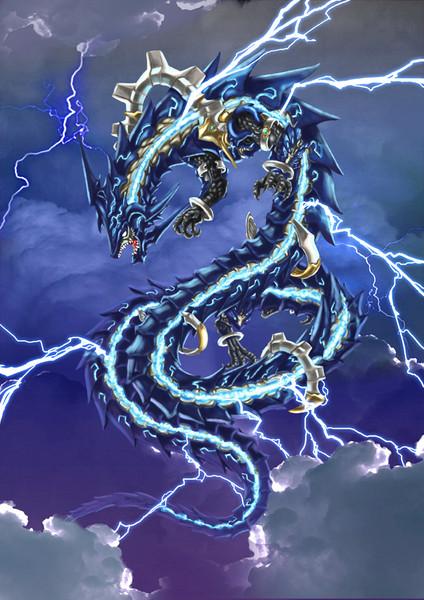 Lightning Bolt Dragon phone wallpaper by vandread12 424x600