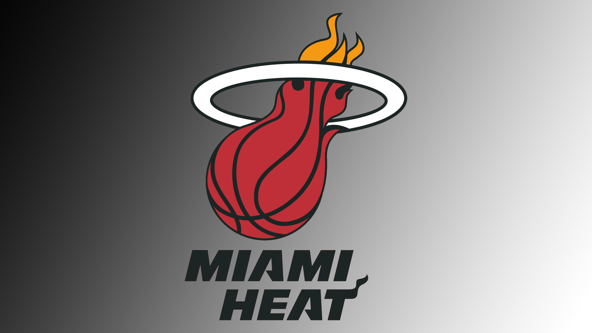 Miami Heat Logo Wallpaper Peinture 1920x1080