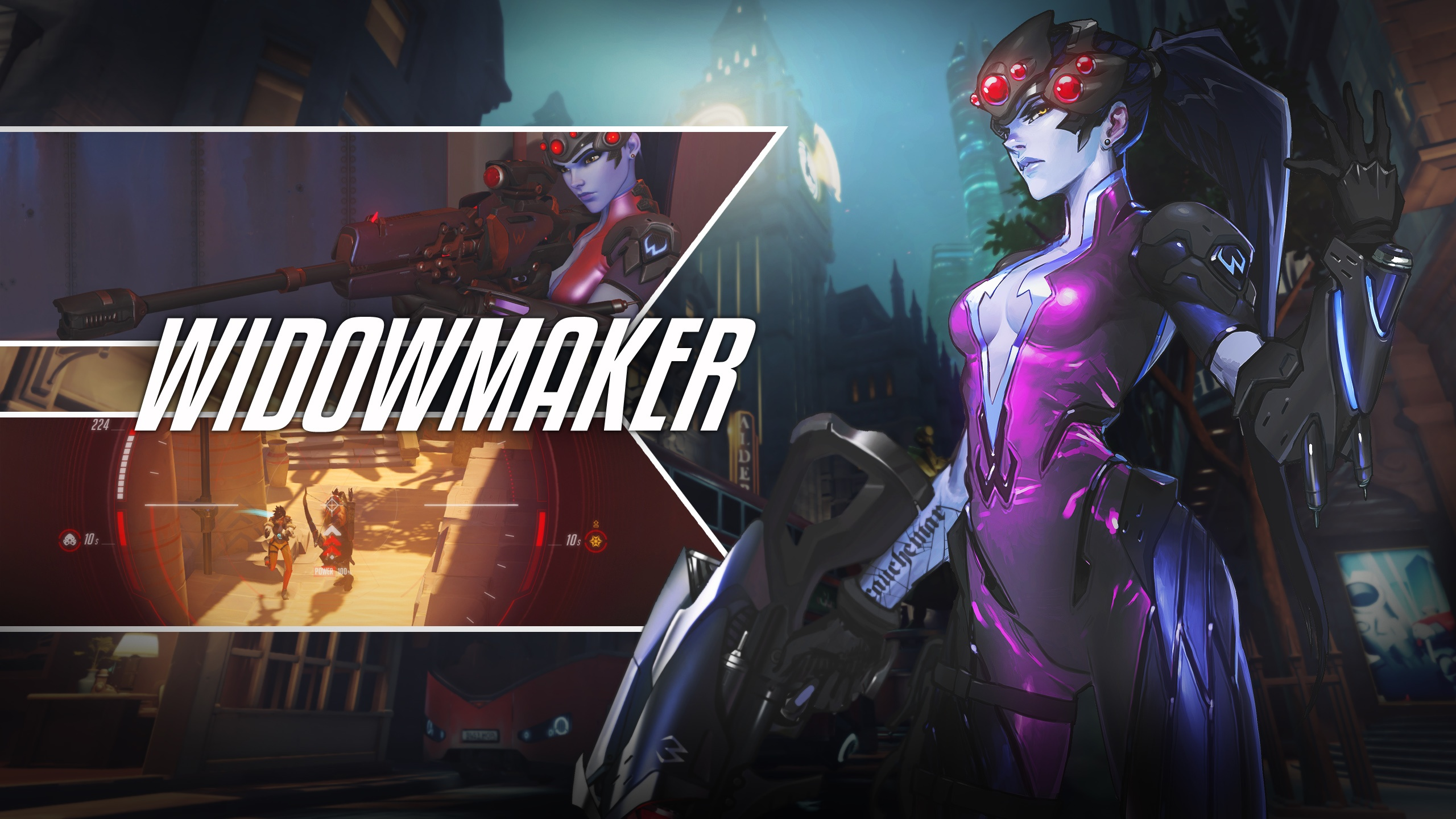 Widowmaker Overwatch Wallpapers HD Wallpapers 2560x1440