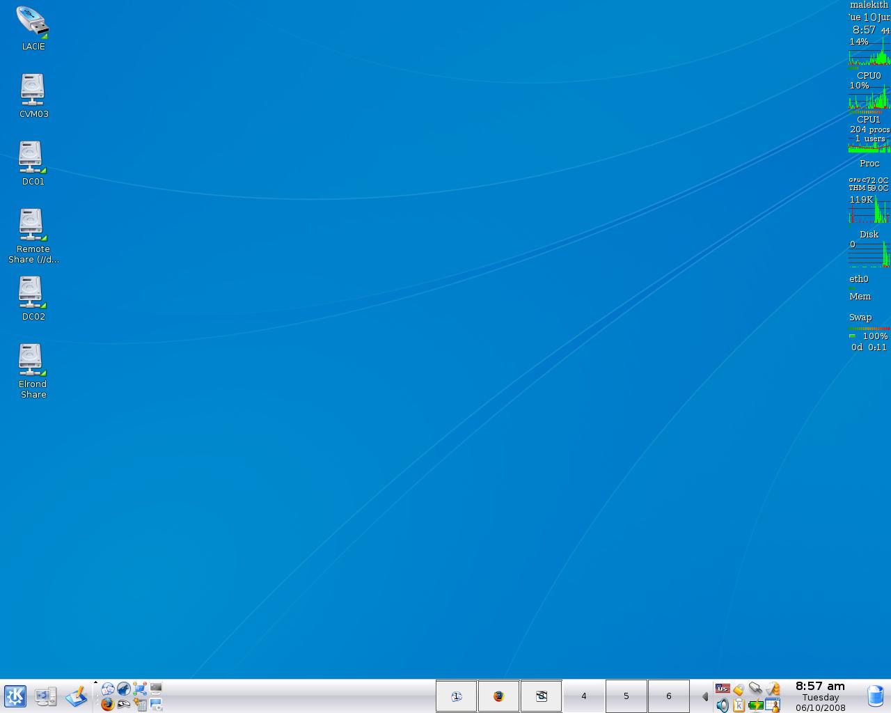 Show me your desktop Terminally Incoherent 1280x1024