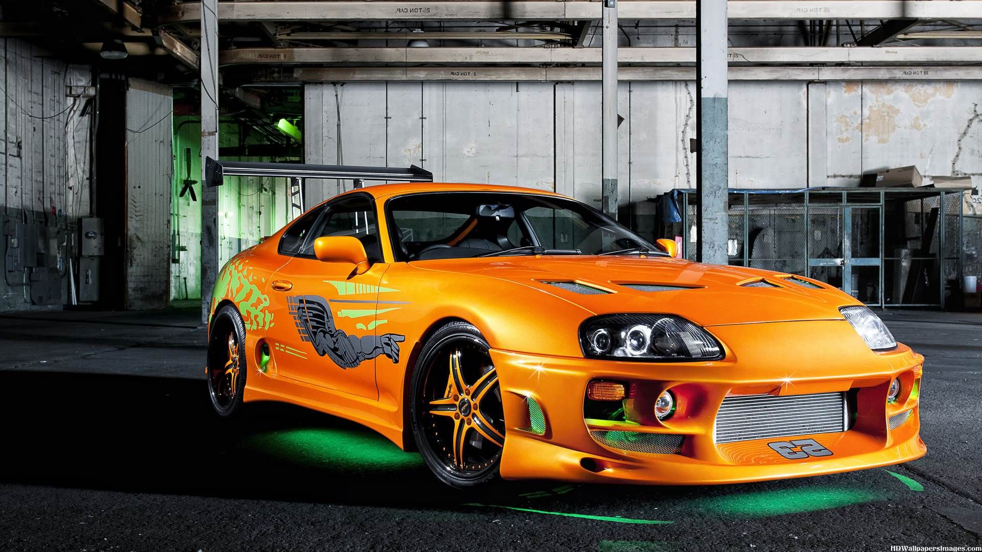 Toyota Supra Fast And Furious HD Wallpaper   4T4ORG 1920x1080