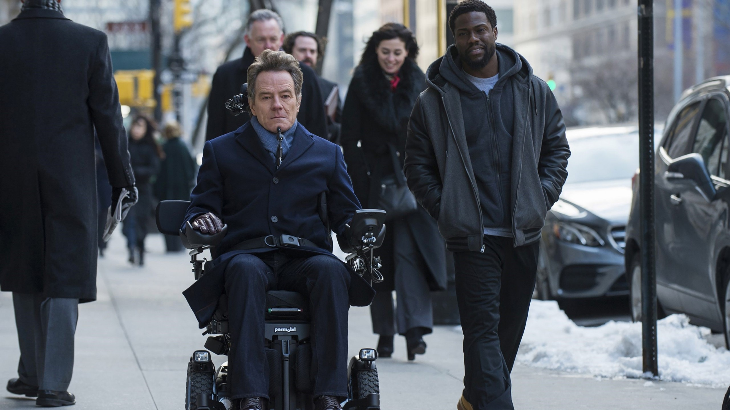 Wallpaper The Upside Kevin Hart Bryan Cranston HD Movies 20989 2560x1440