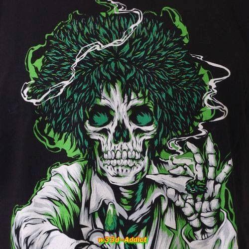 by w33d Addict Di Herbalist on BoneHead Skulls Corner by w33dad 500x500