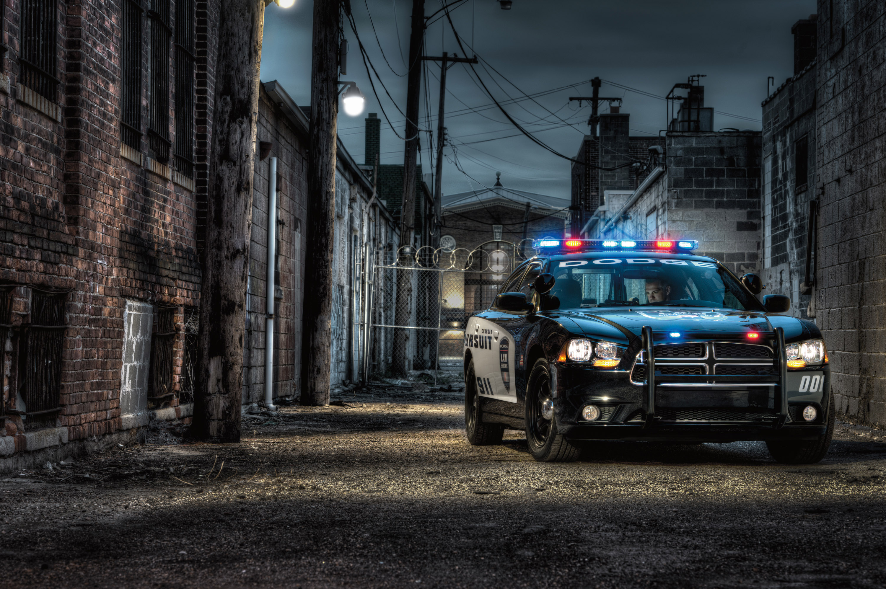 Presents Wallpaper Wednesday 2013 Dodge Charger Pursuit Police Car 3000x1995