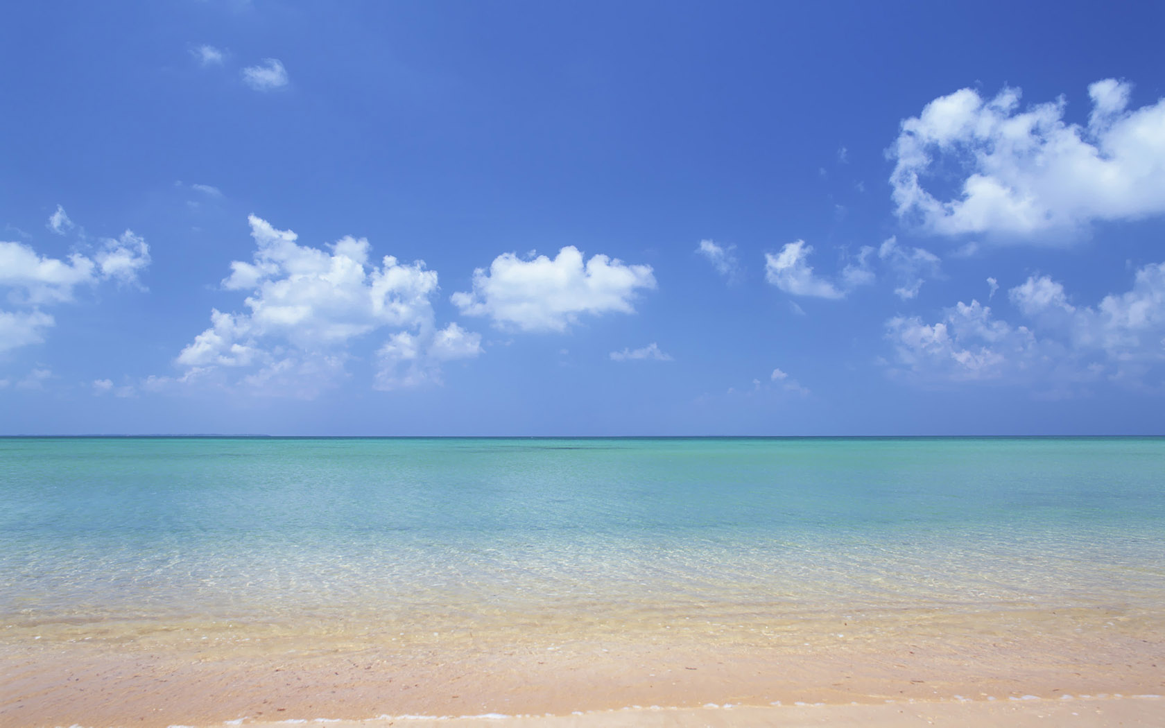 Hawaii Beach Wallpaper Print Poster Hawaiis Aquamarine Sea and 1680x1050