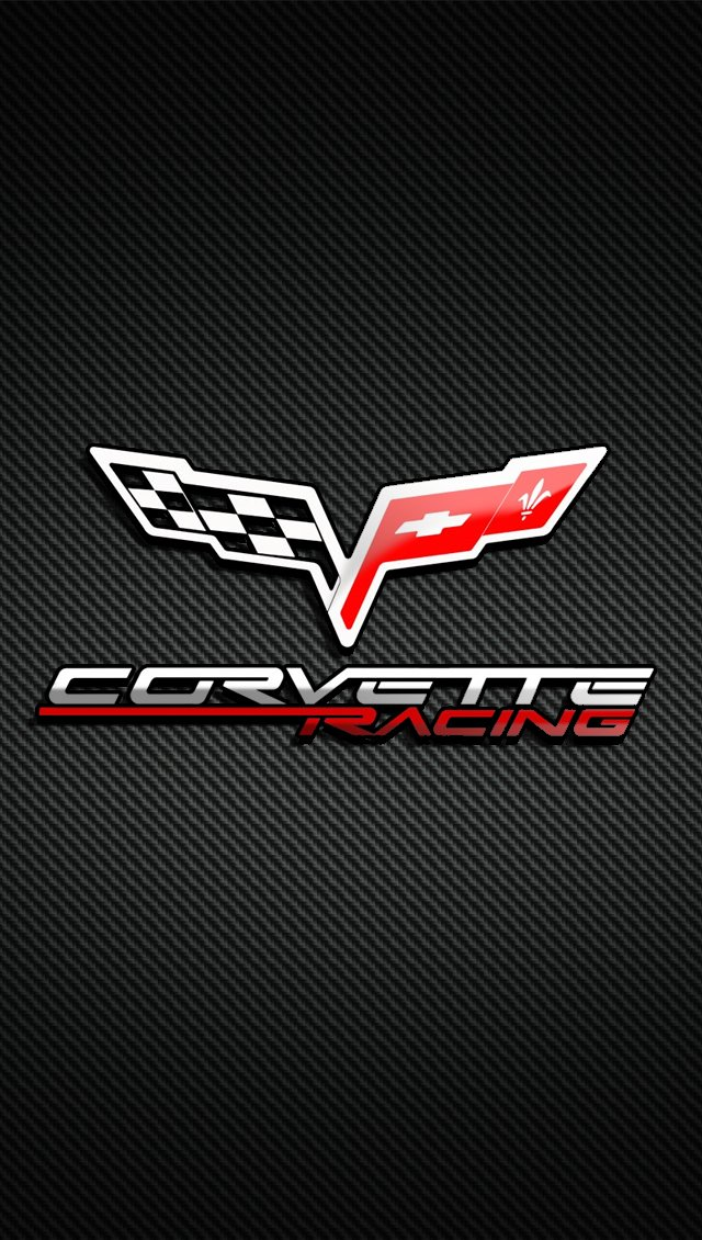 C6 Corvette Logo Wallpaper Vette iphone1 corvette c6 640x1130