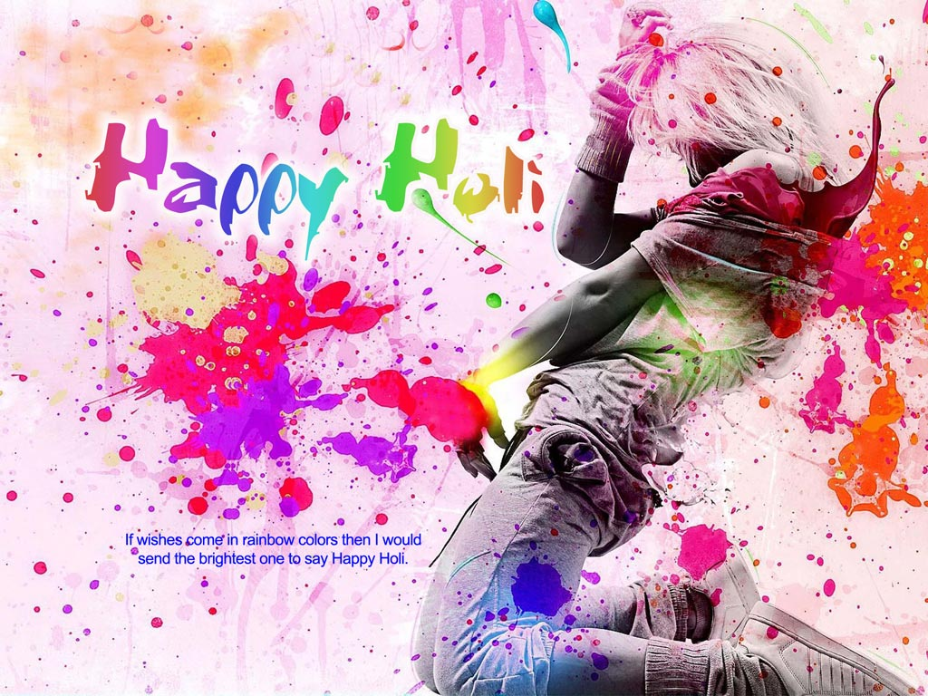 Happy Holi sms MessagesHoli Wishes Holi Greetings 2014Holi Cards 1024x768