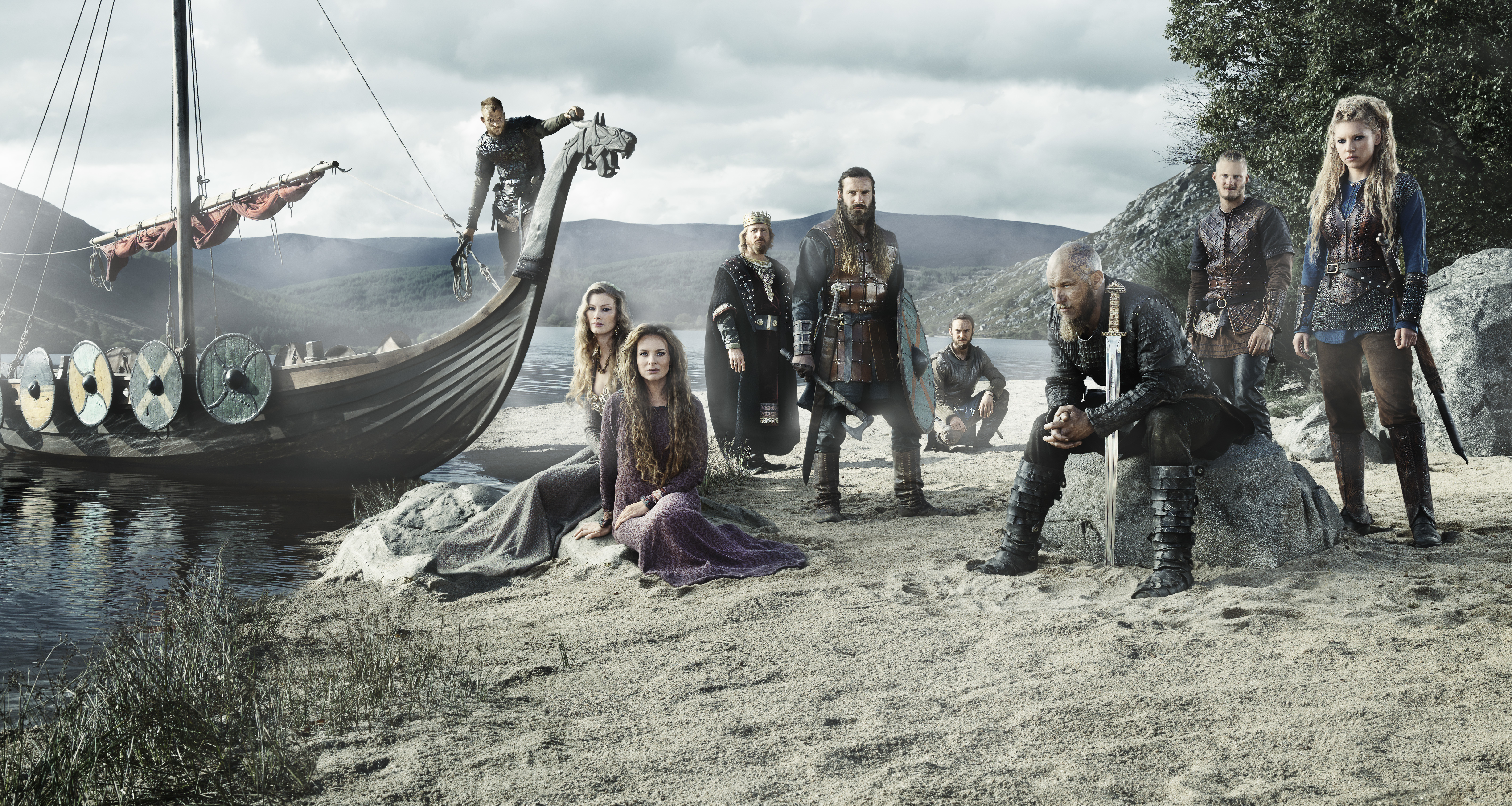 328 Vikings HD Wallpapers Background Images 6416x3421