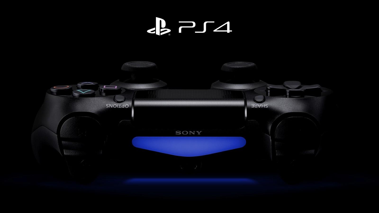 PS4 Logo Wallpaper 1600x900
