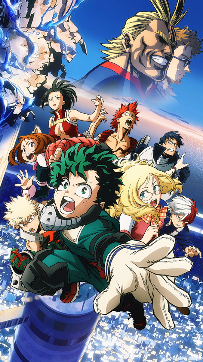 31 My Hero Academia Two Heroes Wallpapers On Wallpapersafari
