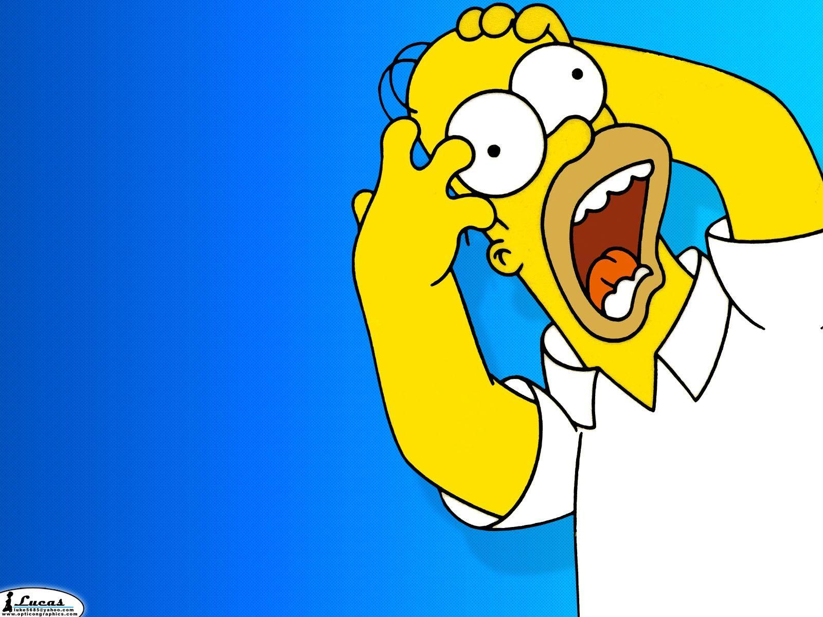 Homer Simpson Desktop Wallpapers 1600x1200