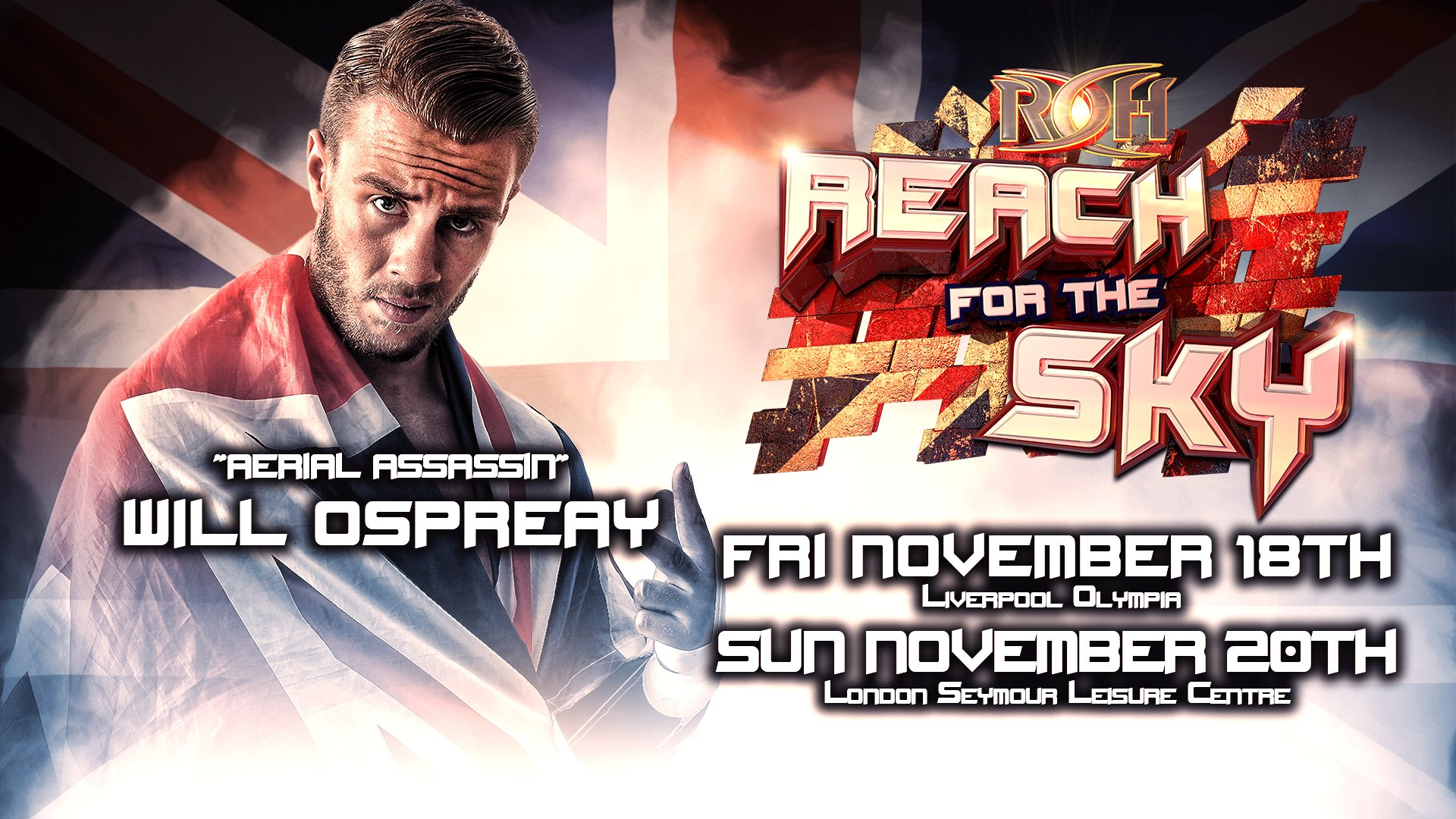 More Details on Will Ospreay Making Ring of Honor Debut WWE Makes 1920x1080