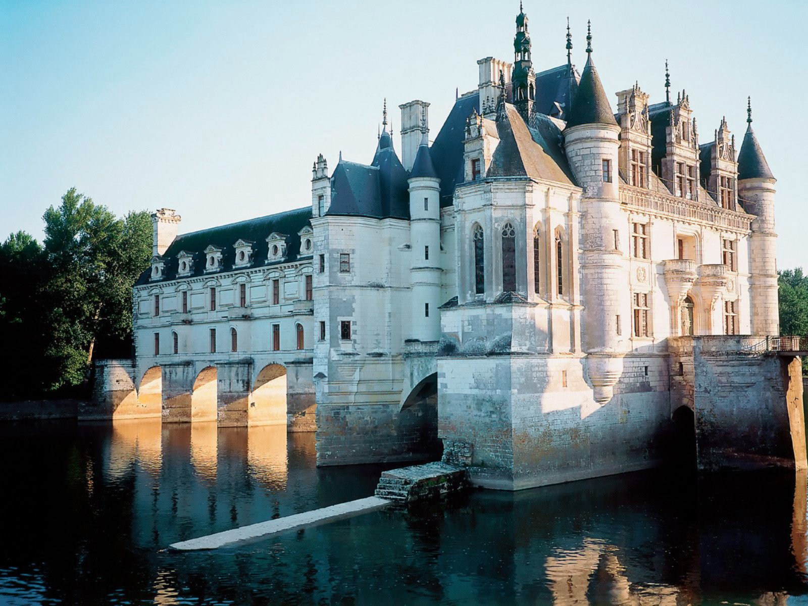 Chenonceaux Castle France Wallpapers HD Wallpapers 1600x1200