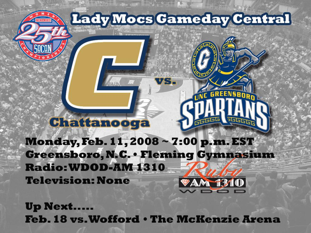 Chattanooga Athletics   Lady Mocs Wrap Up Road Swing at UNCG Monday 1024x768
