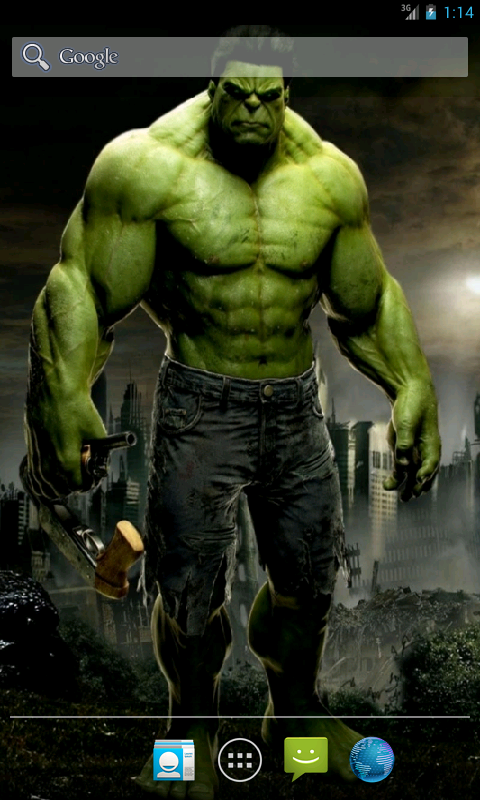 Download Hulk Live Wallpaper For Android 11 480x800