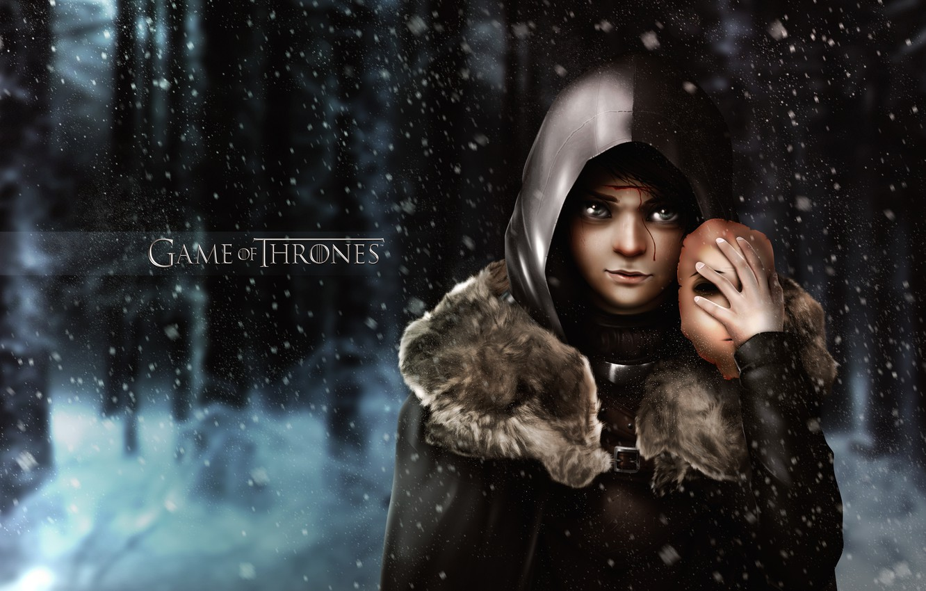 Wallpaper Game of Thrones Game of thrones Arya Stark Arya Stark 1332x850