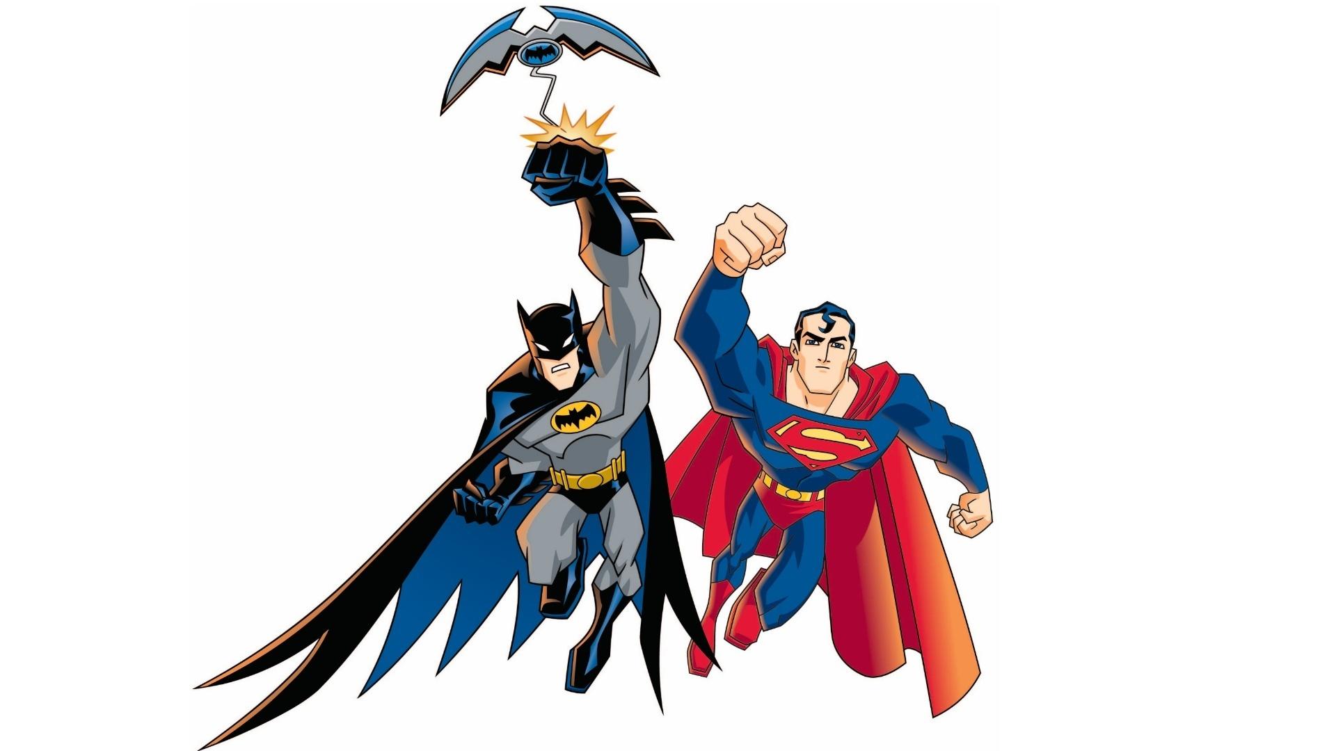 Batman and Superman Widescreen Wallpaper   15751 1920x1080