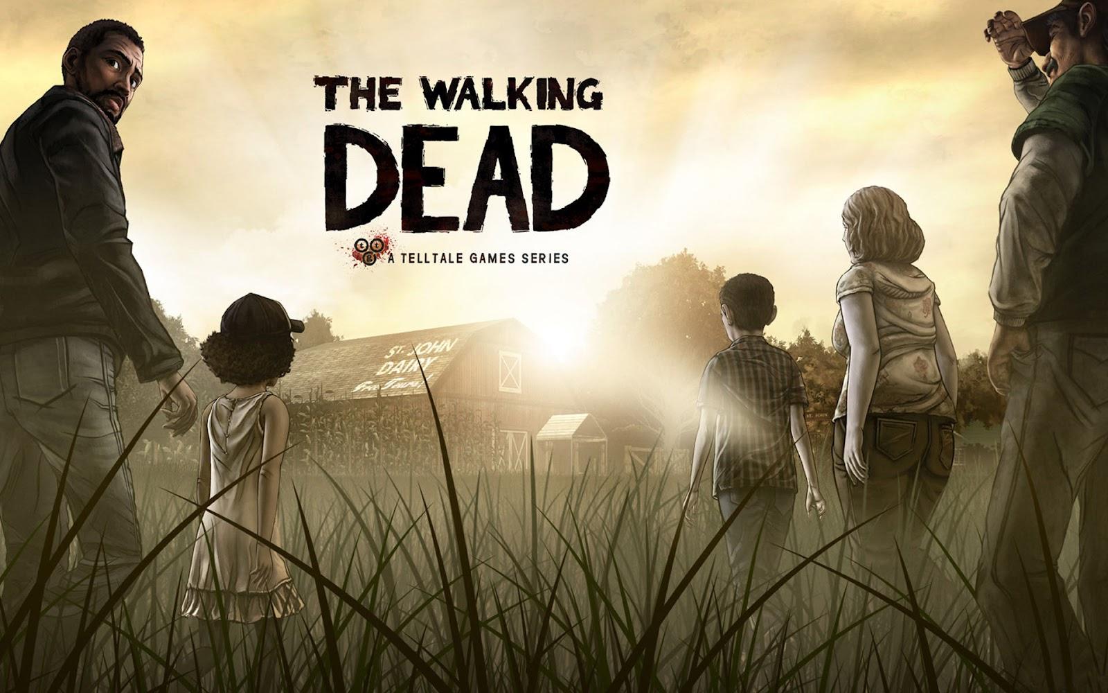 The Walking Dead game wallpaper HD Walking Dead bureaublad 1600x1000