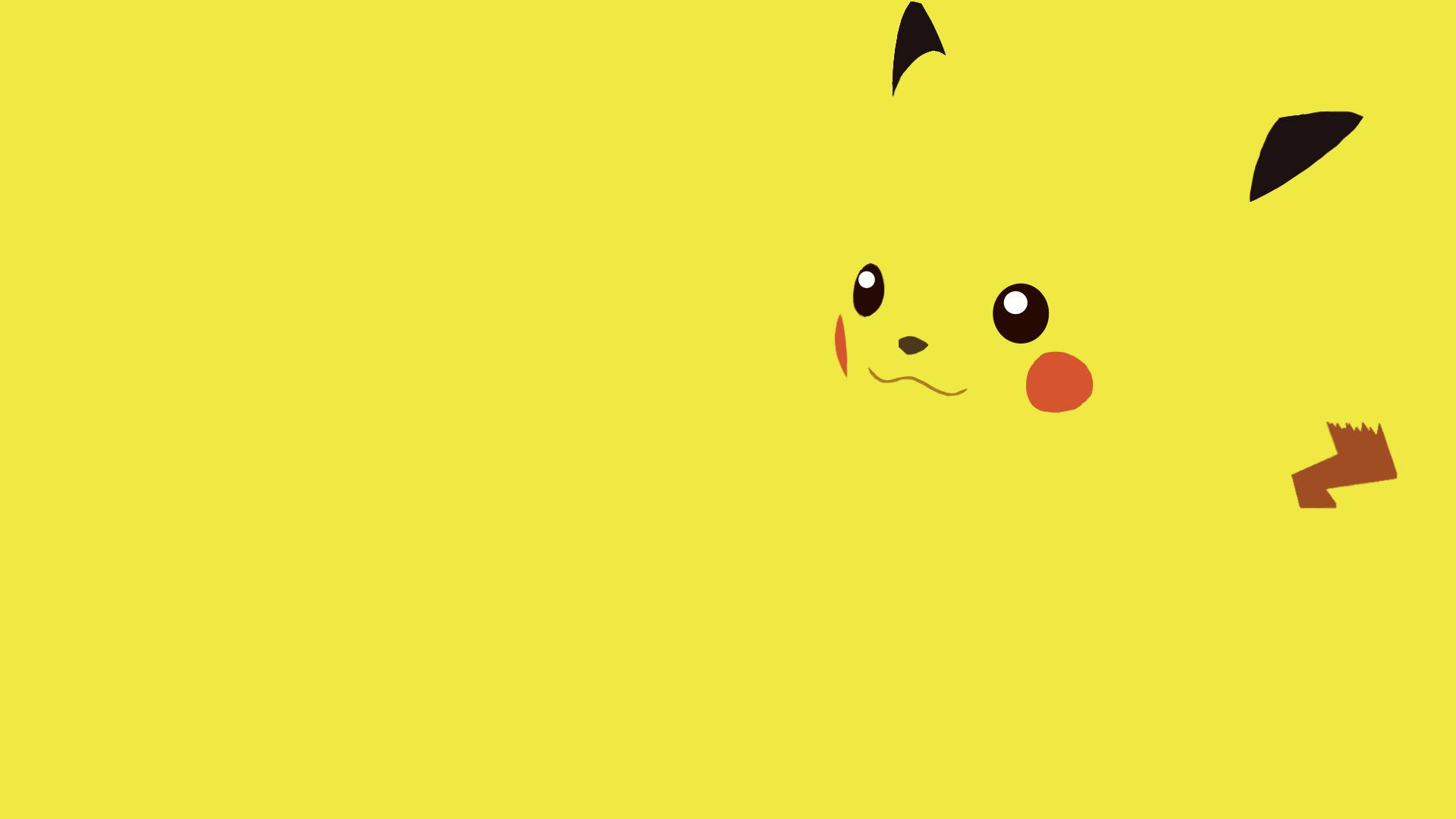Pikachu fanart   Pokemon Wallpaper 1920x1080