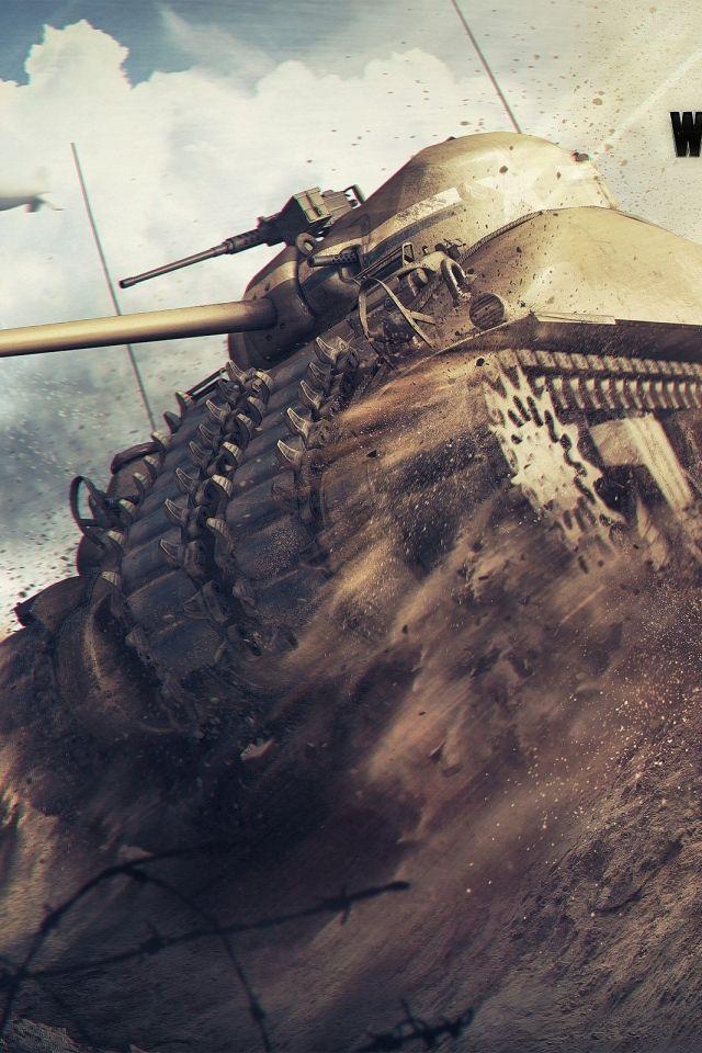 IPhone 4S 4 World of tanks Wallpapers HD Desktop Backgrounds 640x960