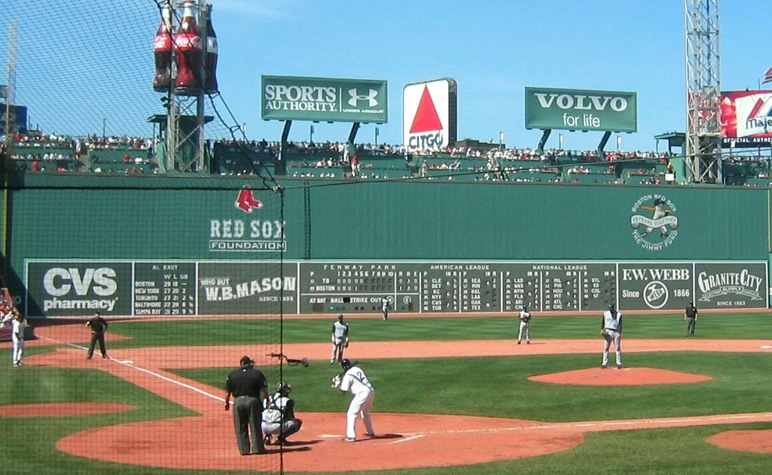 Fenway Park Green Monster Fenway park with the green 1115x686