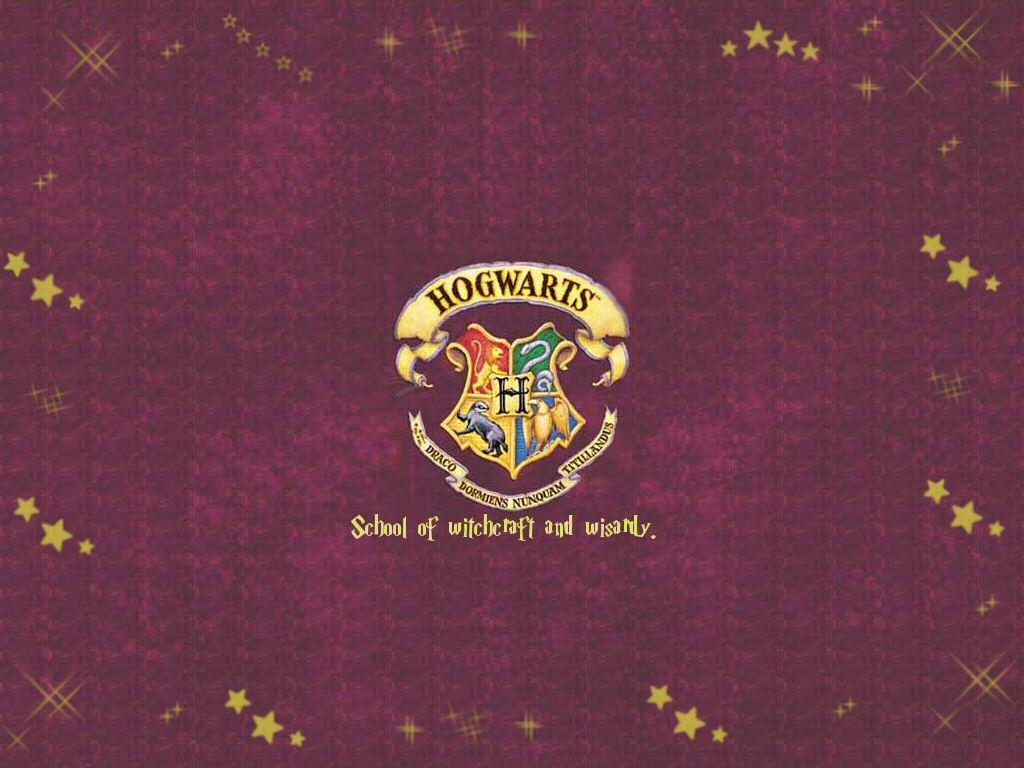 Hogwarts House Crest Desktop Wallpaper 1024x768