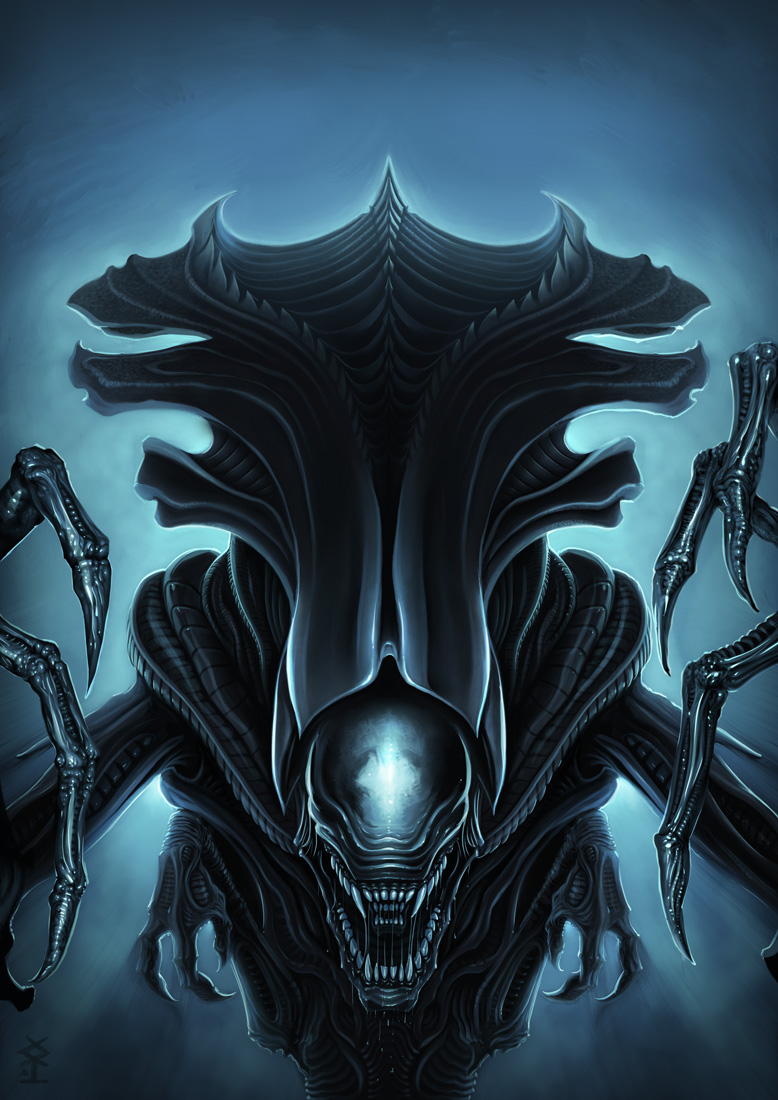 Free Download Alien Queen By Akiman 778x1100 For Your