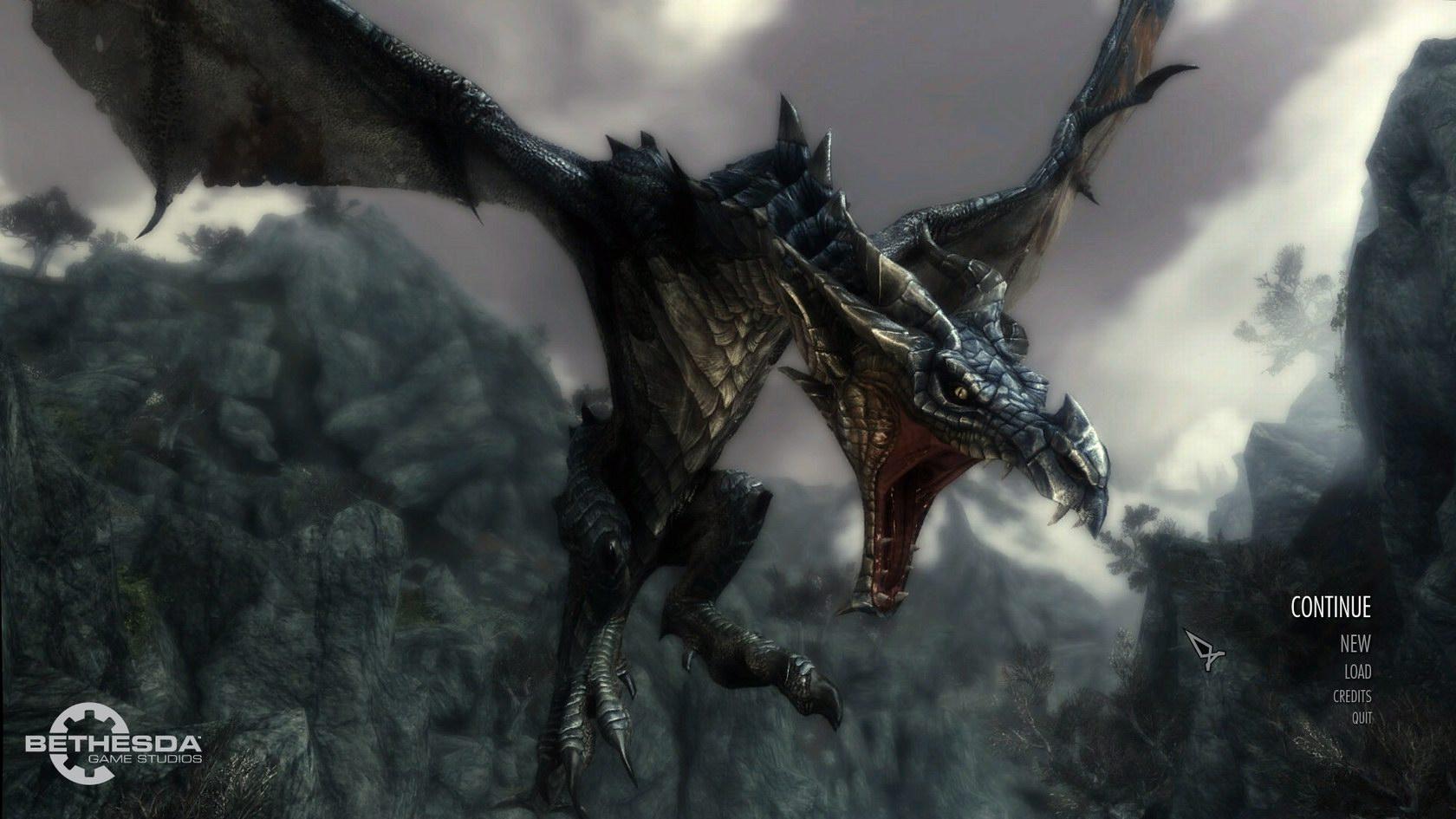 Skyrim Dragonborn Wallpaper 1080p Games Wallpapers Doocab 1680x945