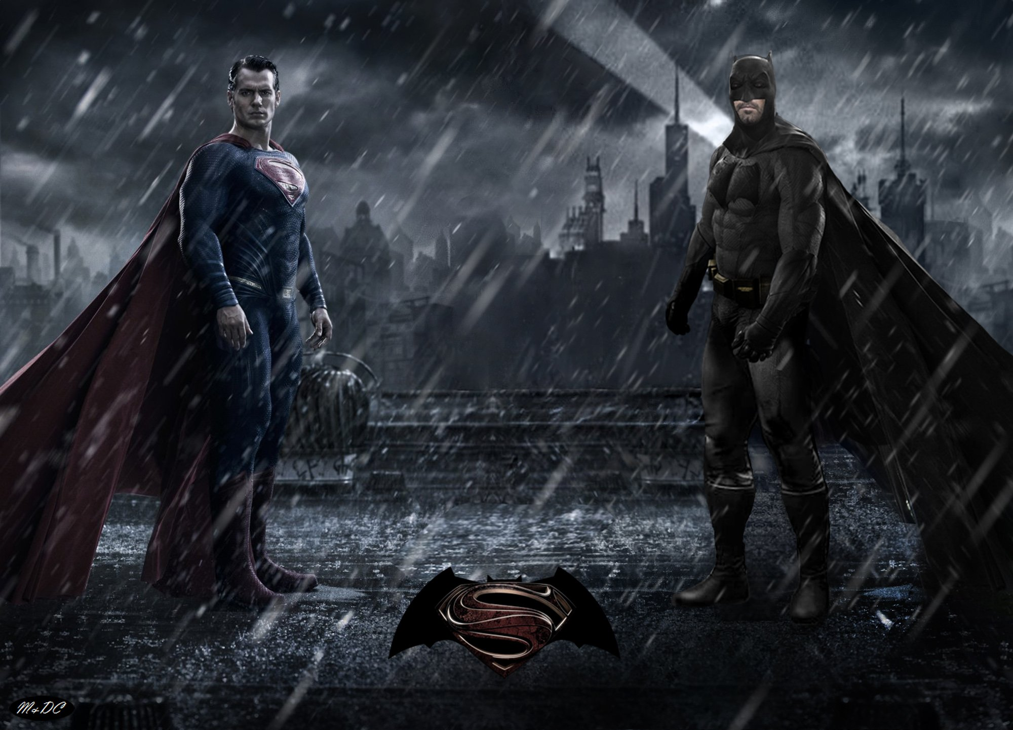 BATMAN v SUPERMAN adventure action batman superman dawn justice 2000x1442