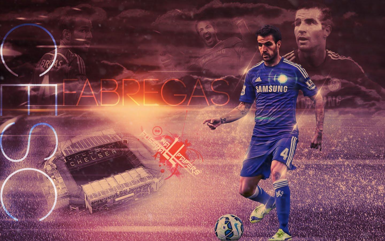 HD Chelsea FC Wallpaper Cesc Fabregas Wallpapers High 1440x900