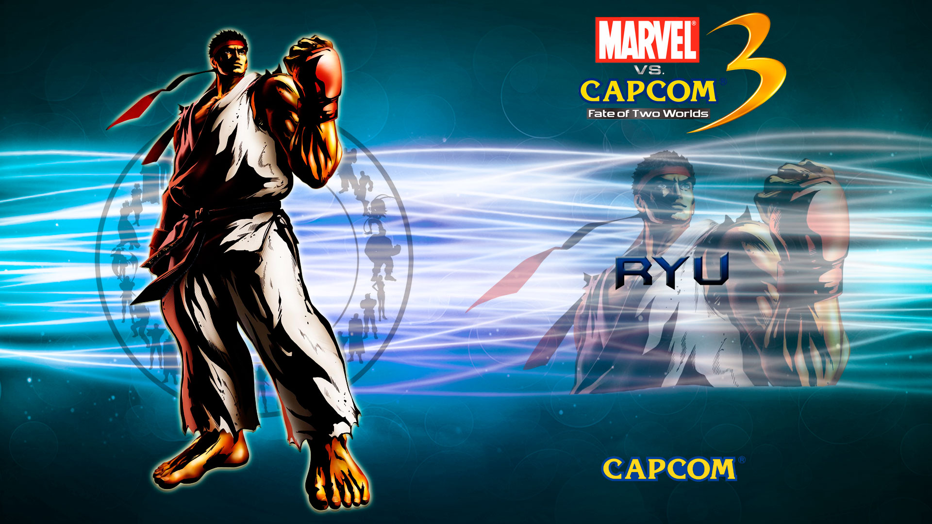 Marvel vs Capcom 3 1080p Wallpaper 1920x1080