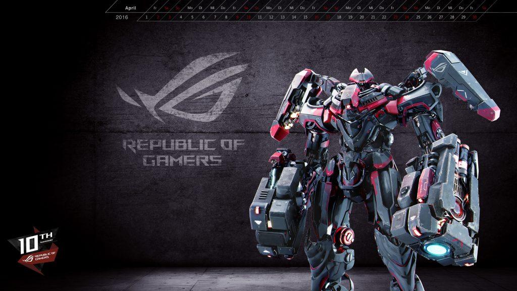 Asus Republic Of Gamers Wallpaper 88   Asus Rog   1024x576 1024x576