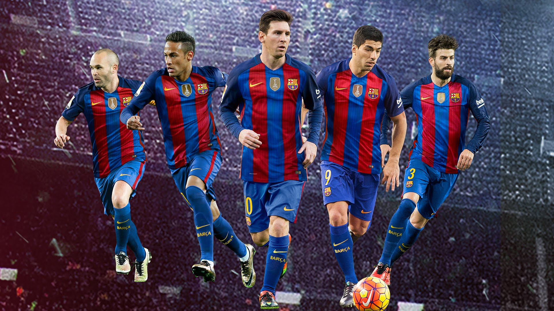 FC Barcelona   The champions are back 1920x1080