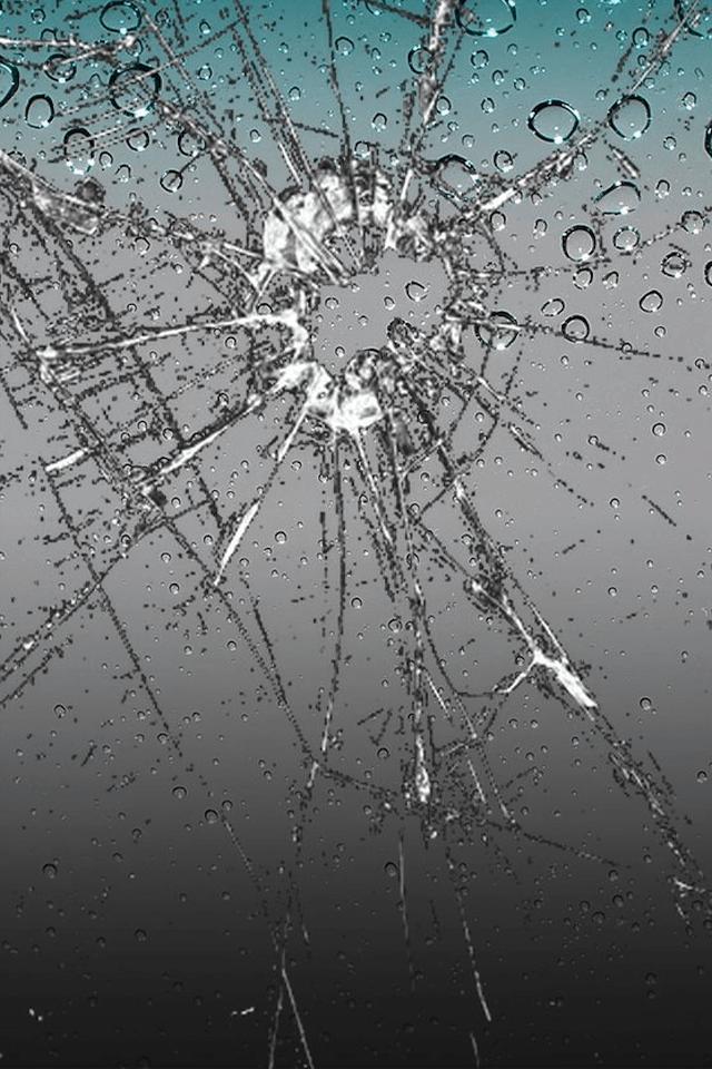 Prank 4 Broken Screen Wallpaper for Apple iPad iPhone 640x960