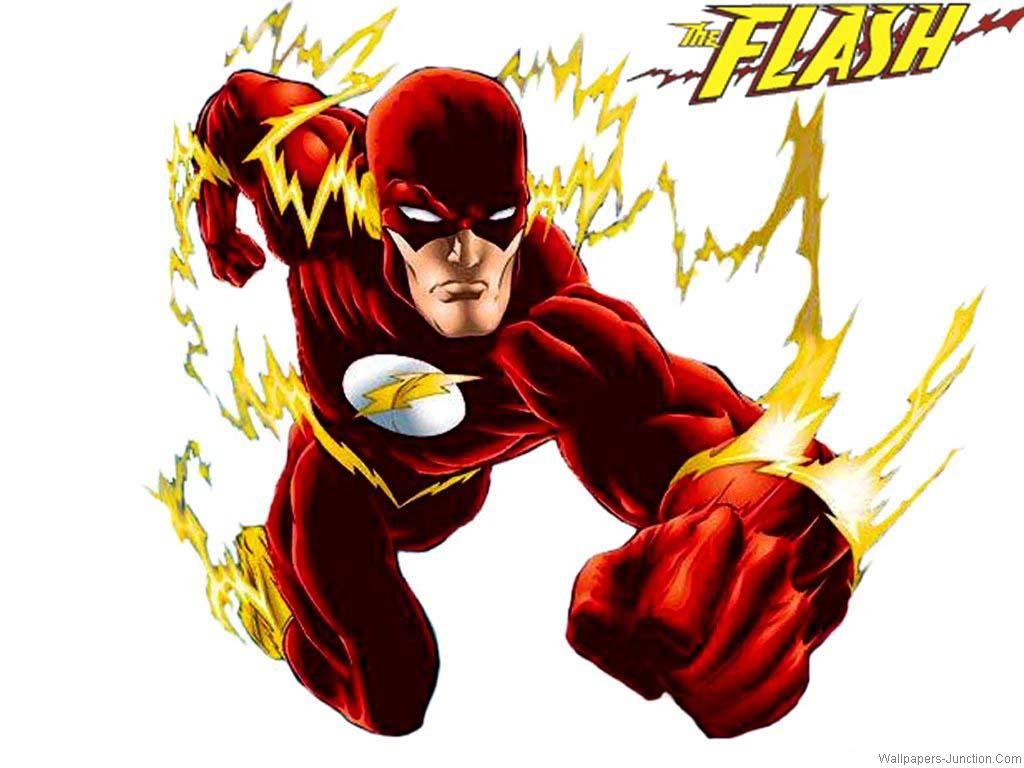 Flash Cartoon Wallpapers 1024x768