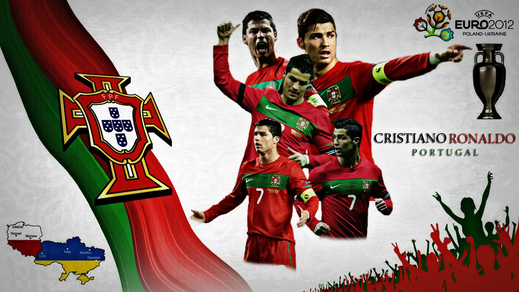 Portugal Soccer Team Logo Wallpaper wwwpixsharkcom 1728x972