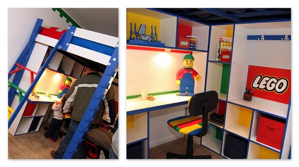 Boys LEGO Room Bedroom 600x337