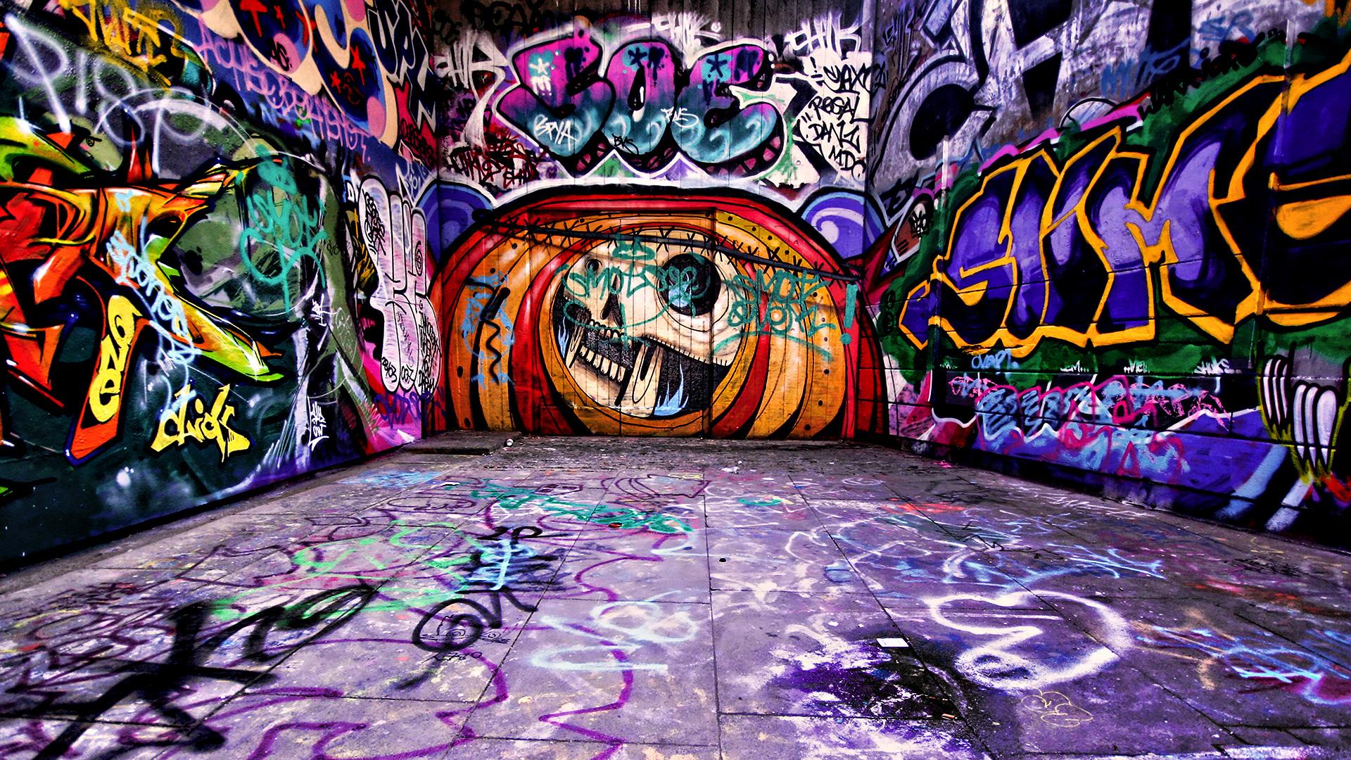 Graffiti room Wallpaper HD Wallpaper Graffiti 20556 high quality 1920x1080