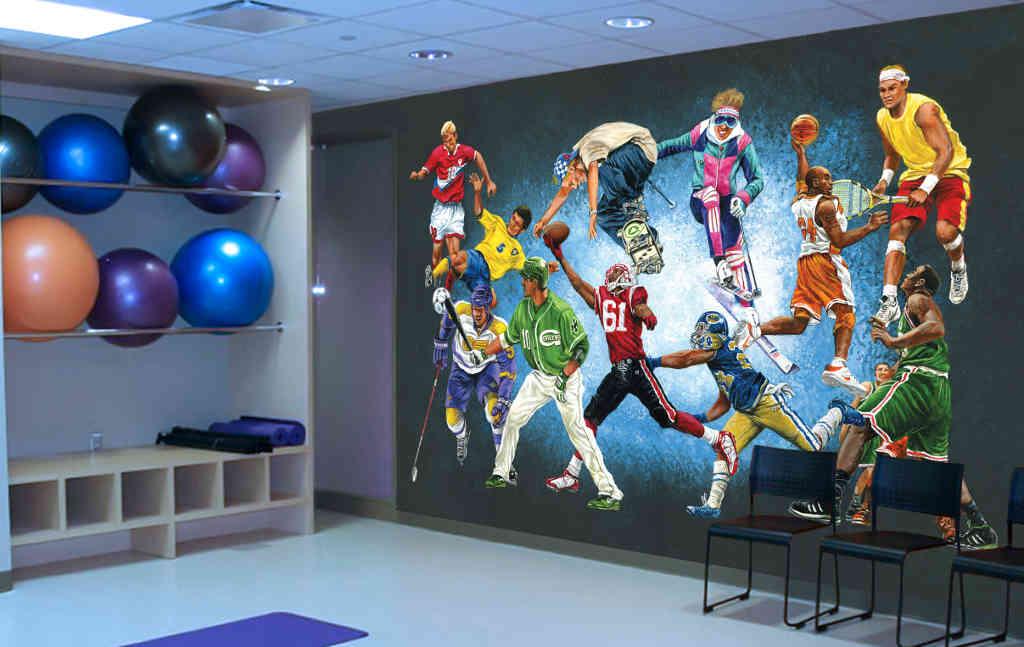 1024x647px baseball wall mural wallpaper wallpapersafarisports wallpaper murals kidinthemuralcomshoplarge wall mural 1024x647