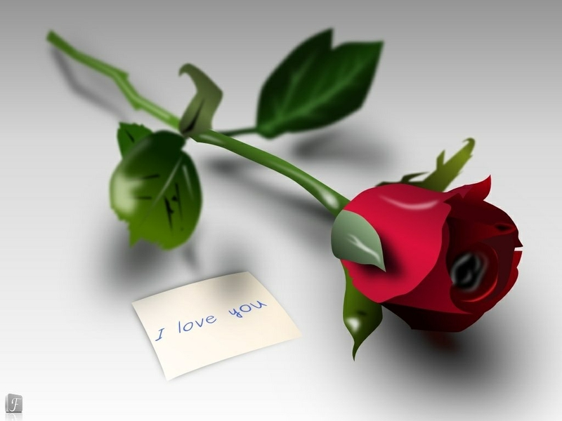 45+] 3D Red Roses Wallpaper on WallpaperSafari