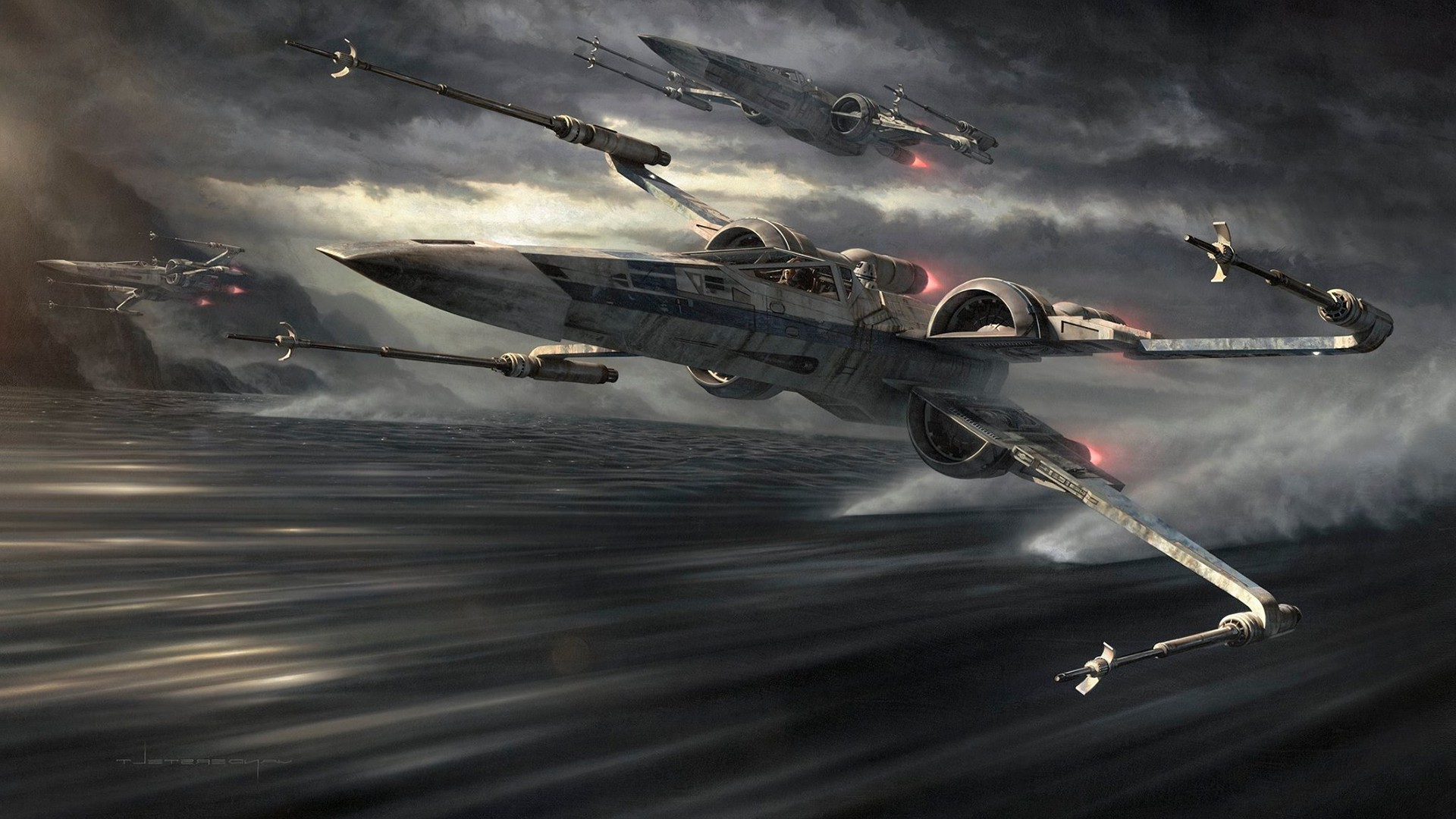 X wing Star Wars Wallpapers HD Desktop and Mobile 1920x1080