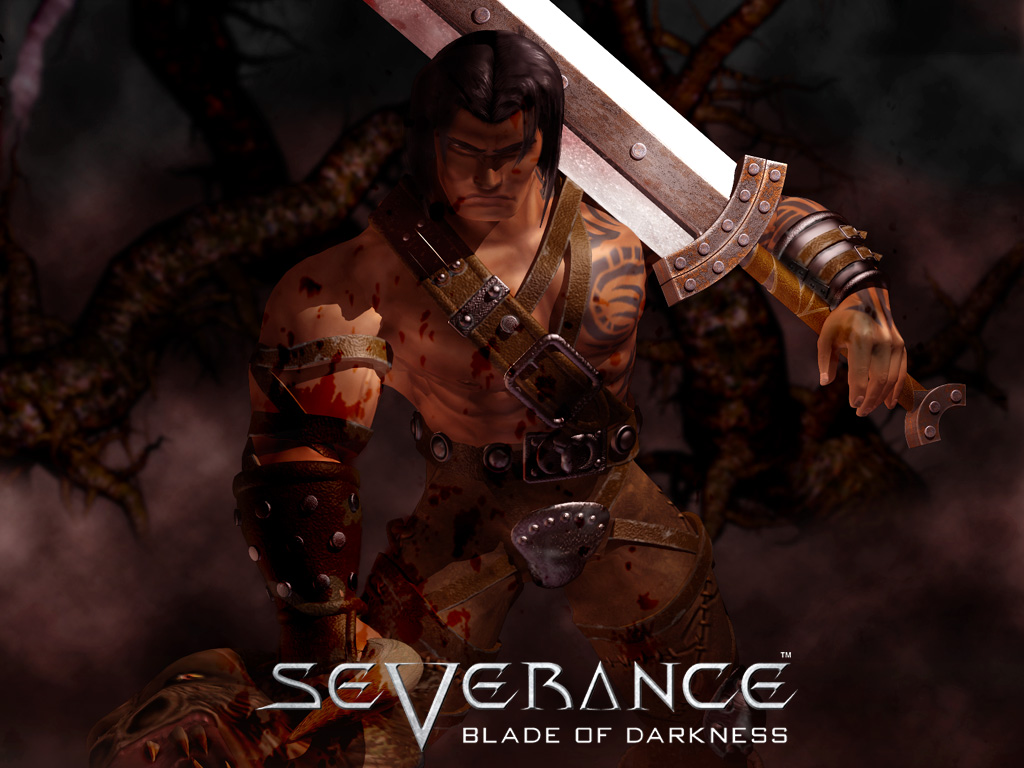 barbarian severance blade darkness wallpaper barbarian wallpaper 1024x768