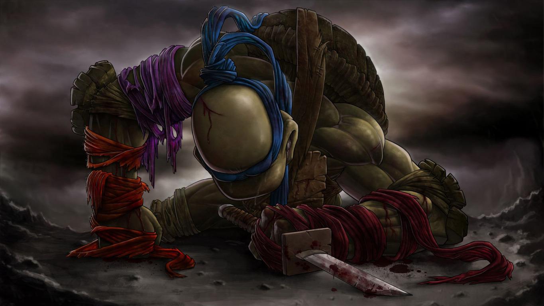 Leonardo Teenage Mutant Ninja Turtles Movie Wallpaper 1365x768