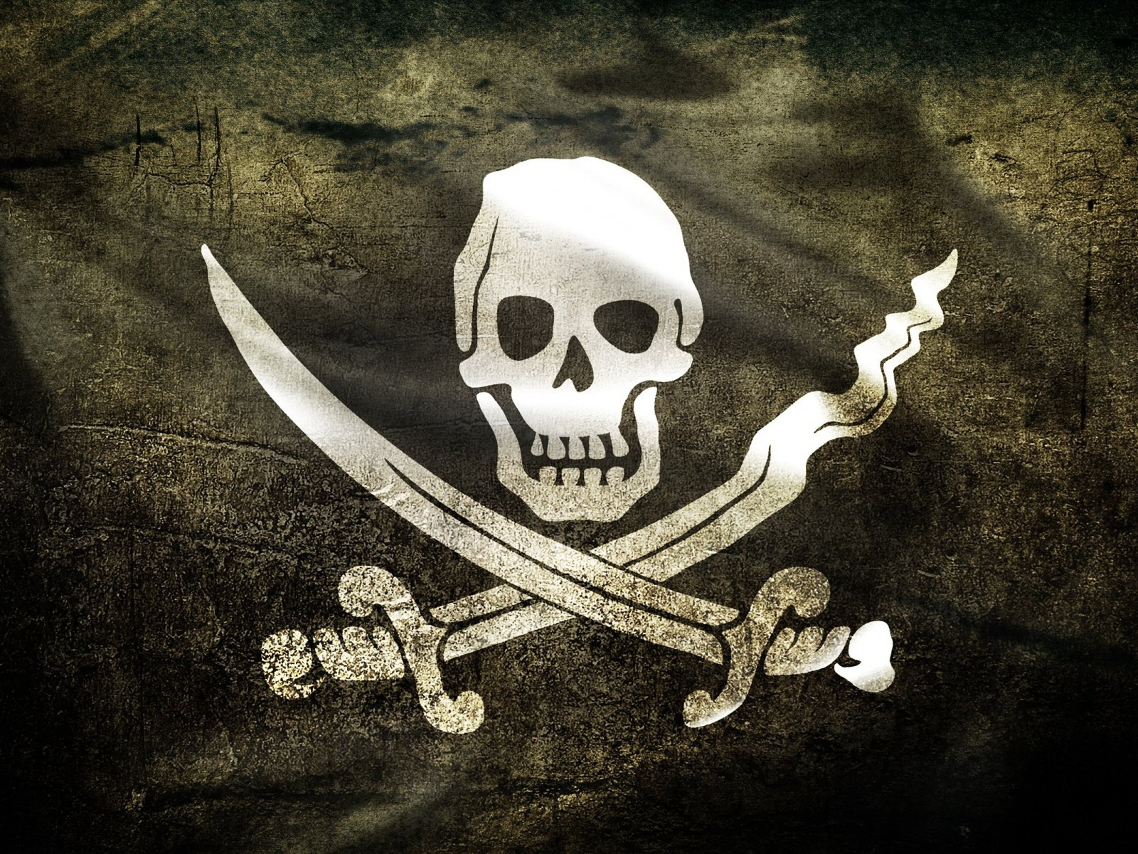 Pirate Flag desktop wallpaper 1600x1200