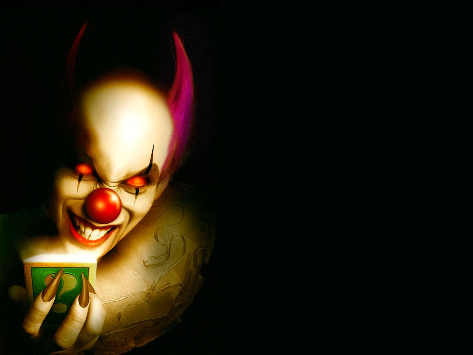 mashababko Clown Wallpapers 1600x1200