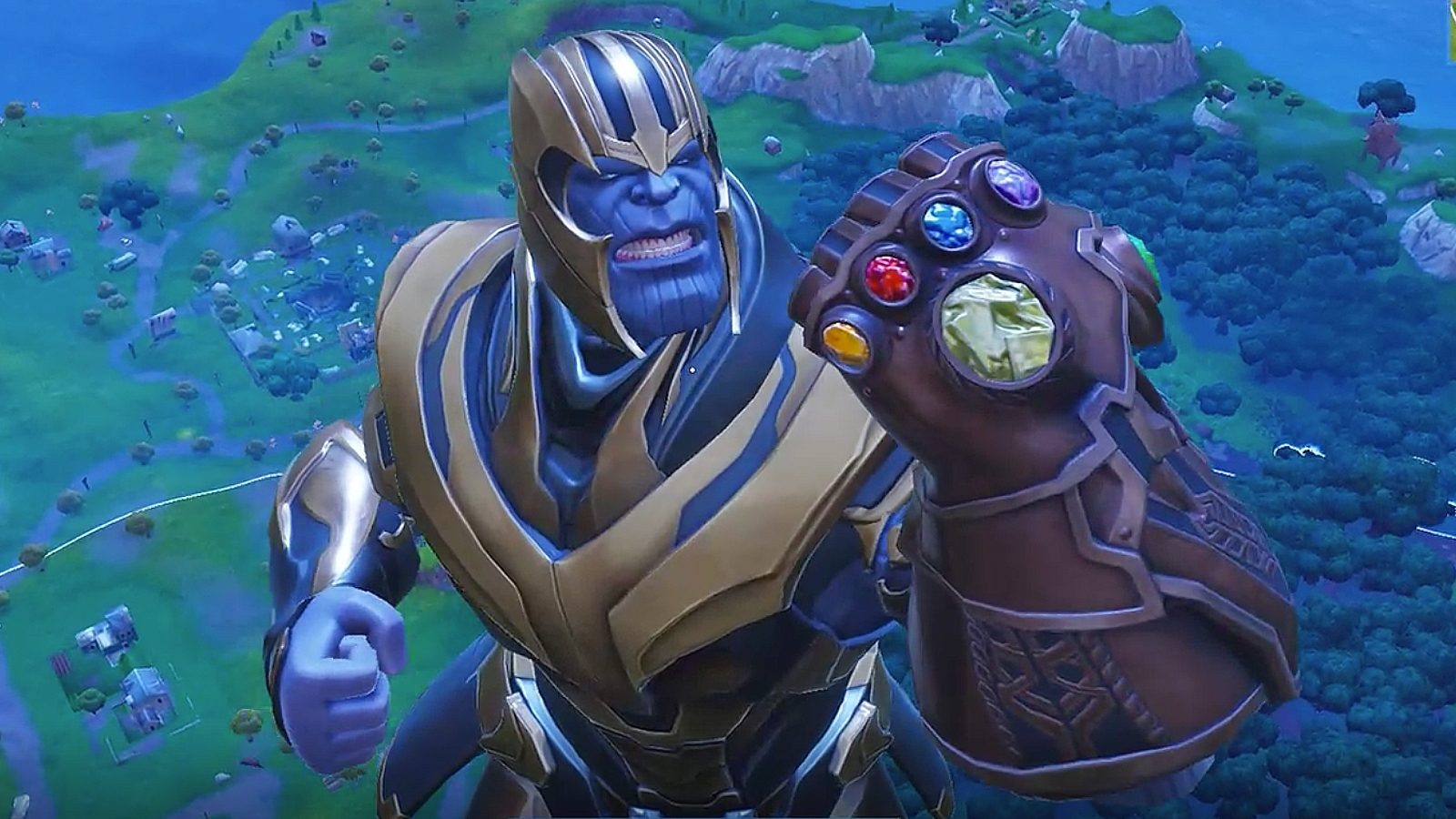 The First Videos of Thanos in Fortnite Dont Disappoint with High 1600x900